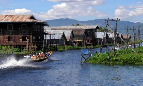 Zdjęcie MYANMAR / Jezioro Inle / Mine Thauk / Wodny świat 3