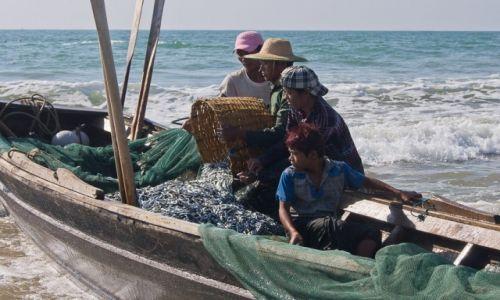 Zdjęcie MYANMAR / Ngwe Saung Beach / Ngwe Saung Beach / Całkiem udany połów
