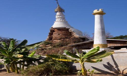 Zdjecie MYANMAR / Monywa District / wioska po drodze / Nowe odpadło...