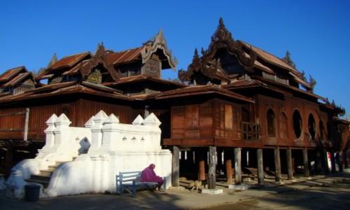 Zdjęcie MYANMAR / Stan Szan / Nyaungshwe / Mnich - dla Nitkaski :)