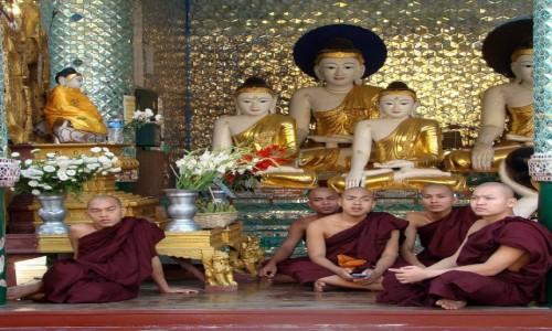 MYANMAR / Rangun /  Pagoda Szwedagon / 5 na 5