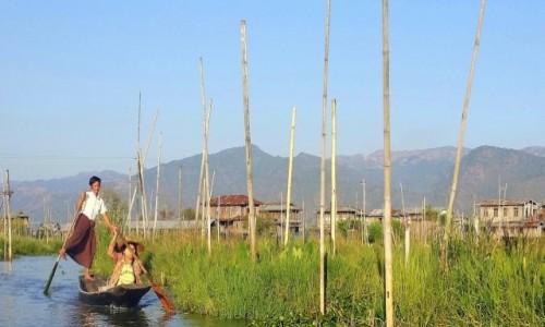 Zdjęcie MYANMAR / Jezioro Inle / - / Na jeziorze