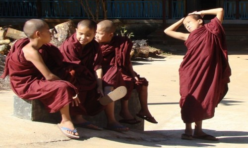 MYANMAR / Shan State / okolice Kalaw / Relaks