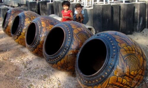 Zdjecie MYANMAR / gdzieś po drodze / - / Dzbany