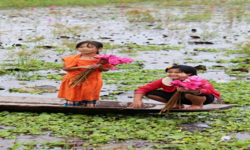Zdjecie MYANMAR / - / jezioro Inle / jezioro Inle