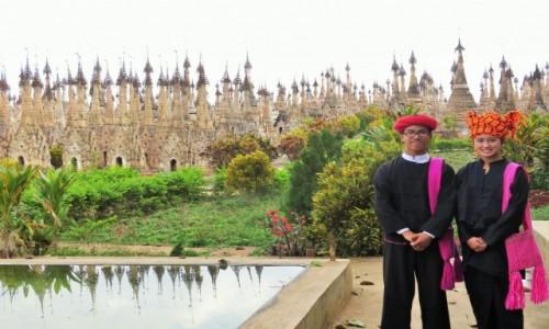 Zdjęcie MYANMAR / SHAN / KAKKU / MISTYCZNY  LAS