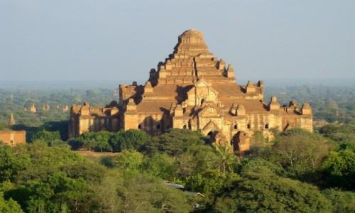 Zdjecie MYANMAR / Prowincja Mandalaj / Pagan - Dhammayangyi temple / W popołudniowym świetle