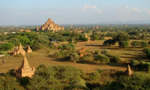 MYANMAR / Prowincja Mandalaj / Pagan / Jak okiem sięgnąć...