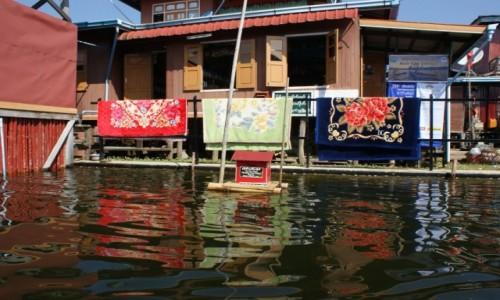 Zdjecie MYANMAR / - /  jezioro inle / Skrzynka na listy