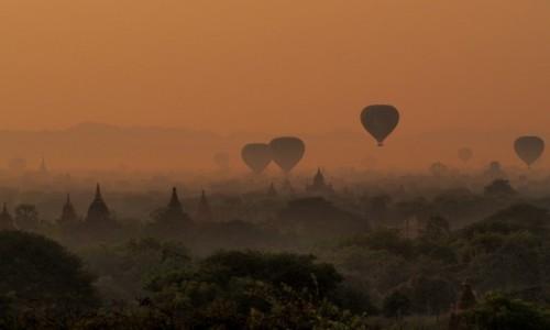 Zdjecie MYANMAR / Bagan / Bagan / Świt 2