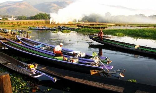 Zdjęcie MYANMAR / jezioro Inle / trekking po górskich wioskach ludu Pa-O / zakończenie trekkingu