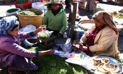 Zdjecie MYANMAR / stan Shan / Taunggyi / miejski targ