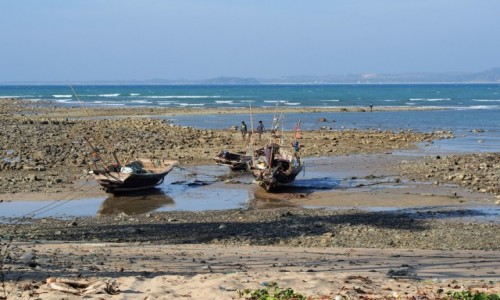 Zdjecie MYANMAR / zatoka bengalska / Ngwe Saung / kutry
