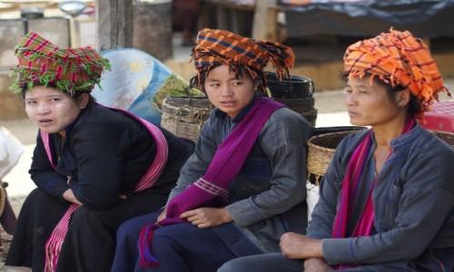 Zdjecie MYANMAR / stan Szan / Inle lake / Na Targu