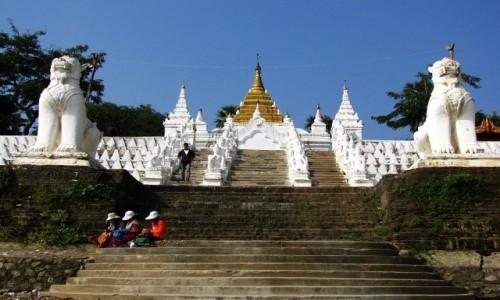 Zdjęcie MYANMAR / okolice Mandalay / Mingun / Settawa Paya