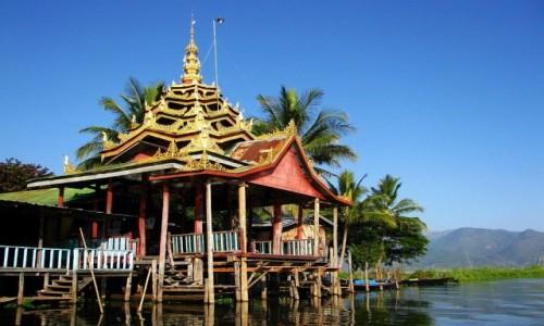 Zdjęcie MYANMAR / stan Shan / jezioro Inle / Klasztor Skaczącego Kota