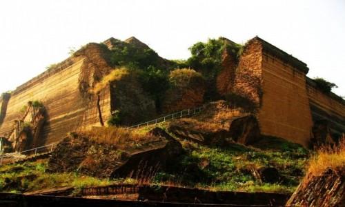 Zdjęcie MYANMAR / Okolice Mandalay / Mingun / Mingun Paya