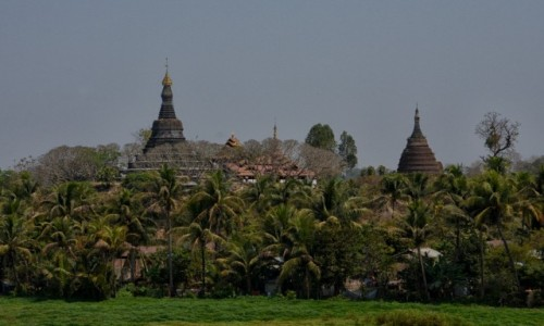 Zdjecie MYANMAR / Stan Arakan, dystrykt Sittwe /  Mrauk U /