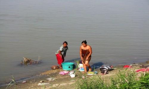 Zdjęcie MYANMAR / centralny Myanmar / Nyaung OO / na brzegu Irawadi