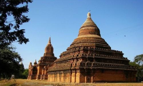 Zdjęcie MYANMAR / centralny Myanmar / Bagan / pagody Baganu