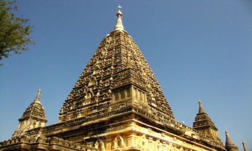 Zdjęcie MYANMAR / centralny Myanmar / Bagan / Mahabodhi Paya