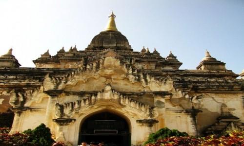 Zdjęcie MYANMAR / centralny Myanmar / Bagan / Gawdawpalin  Pahto