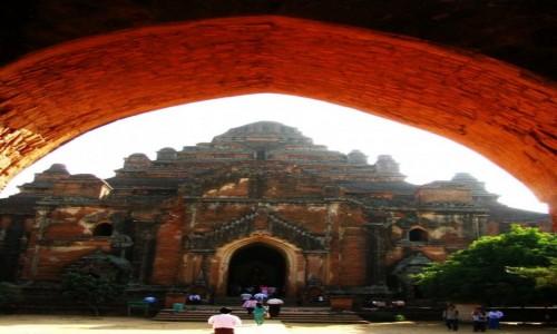 Zdjecie MYANMAR / centralny Myanmar / Bagan / Dhammayazika Paya