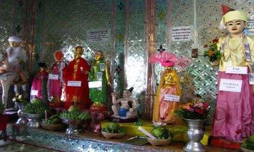 Zdjecie MYANMAR / okolice Baganu / Mt. Popa / kaplica Natów
