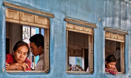 Zdjecie MYANMAR / Yangon / Yangon / W podróży