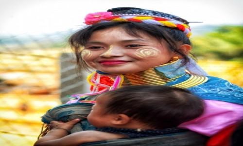 Zdjecie MYANMAR / stan Kaja / wioska Ka Yan / Pani Ka Yan (na słodko)