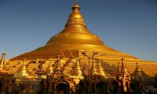 Zdjęcie MYANMAR / Yangon / Schwedagon Paya / stupa główna