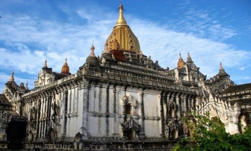 Zdjecie MYANMAR / dystrykt  Mandalay / Bagan / Świątynia Anandy