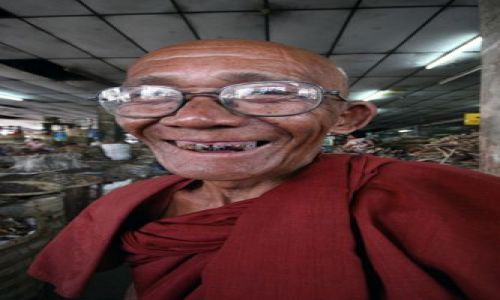 Zdjecie MYANMAR / Płd.Birmy / Mandalay / Uśmiech