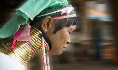 Zdjęcie MYANMAR / brak / Nad J.INLE / ***