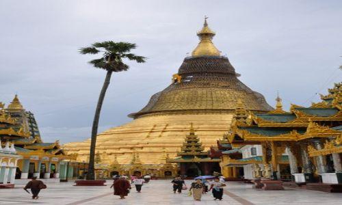 MYANMAR / brak / Yangon (Rangun) / Shwedagon Paya