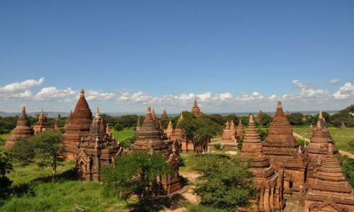 Zdjęcie MYANMAR / brak / Bagan / Bagan - chyba najpiekniejsze miejsce w Birmie :)