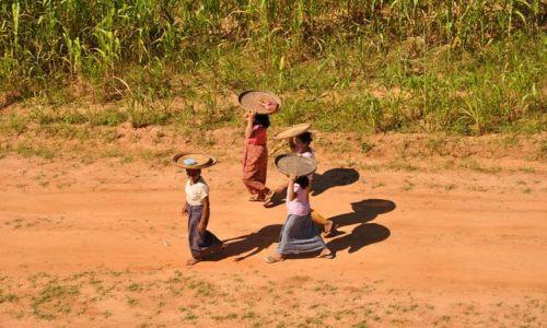 Zdjecie MYANMAR / brak / Bagan / Kobitki - widok z jednej z pagod w Bagan