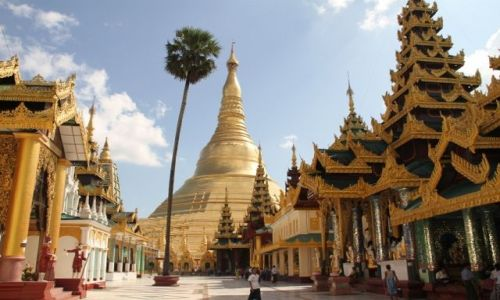 Zdjecie MYANMAR / - / Yangon / Pagoda