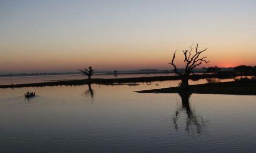 Zdjęcie MYANMAR / Mandalay / Amarapura / ... wyciszenie ...
