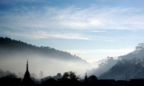 MYANMAR / Inle Lake / Kalaw / ... przed wędrówką przez góry ...
