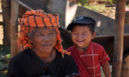 Zdjęcie MYANMAR / - / kalaw /  ludzie napotkani po drodze