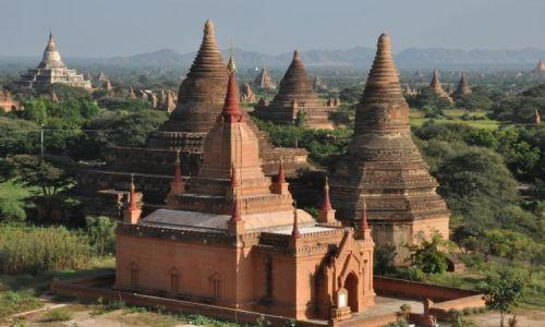 Zdjęcie MYANMAR / - / pagan / Świątynie w Pagan