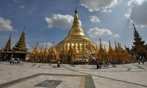 MYANMAR / - / yangon / Pagoda Shwe Dagon