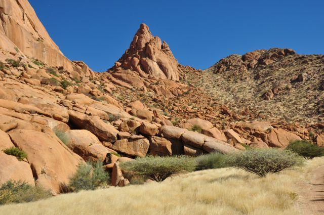 Zdjęcia: Spitzkoppe, Samotnik, NAMIBIA