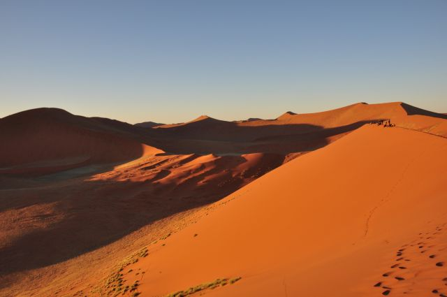 Zdjęcia: Sossusvlei, Namib Naukluft,  Dune 45, NAMIBIA