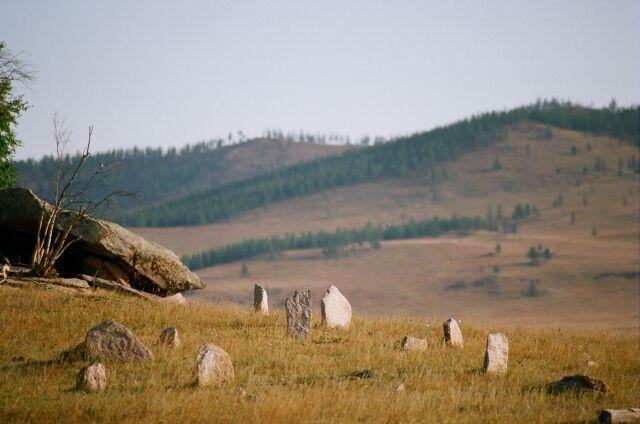 Zdjęcia: Na wschód od Ułan Bator, Zagubiony kurhan, NAMIBIA