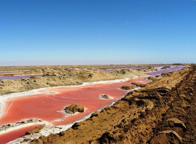 Zdjęcia: ... konkurs - co to jest?, Walvis BAy, barwy oceanu, NAMIBIA