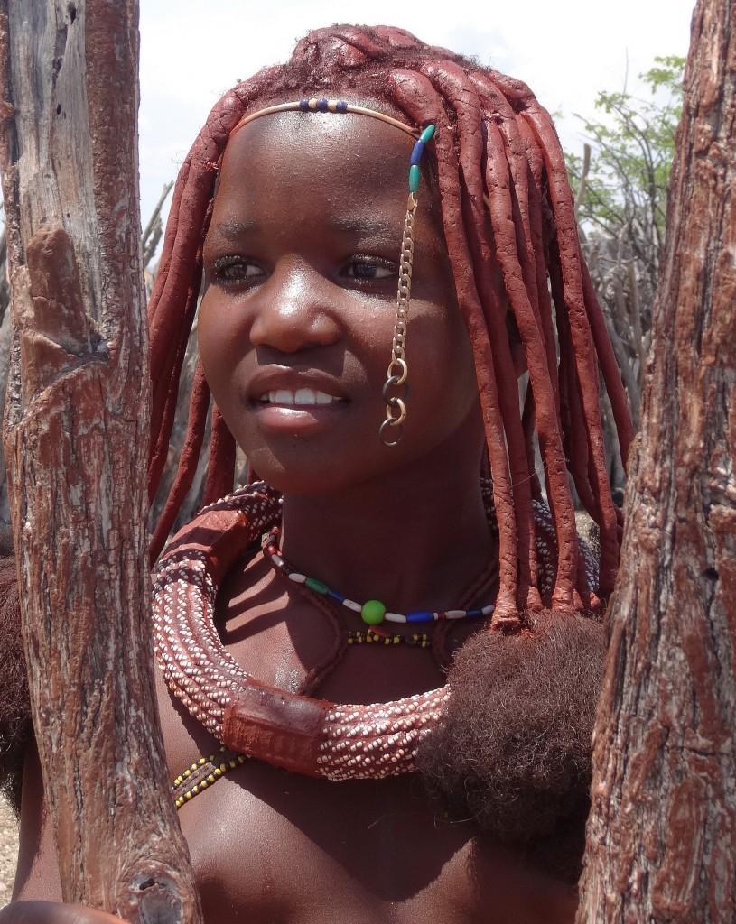 Zdjęcia: Wioska Himba, Kaokoland, Kobiety Himba są piękne, NAMIBIA