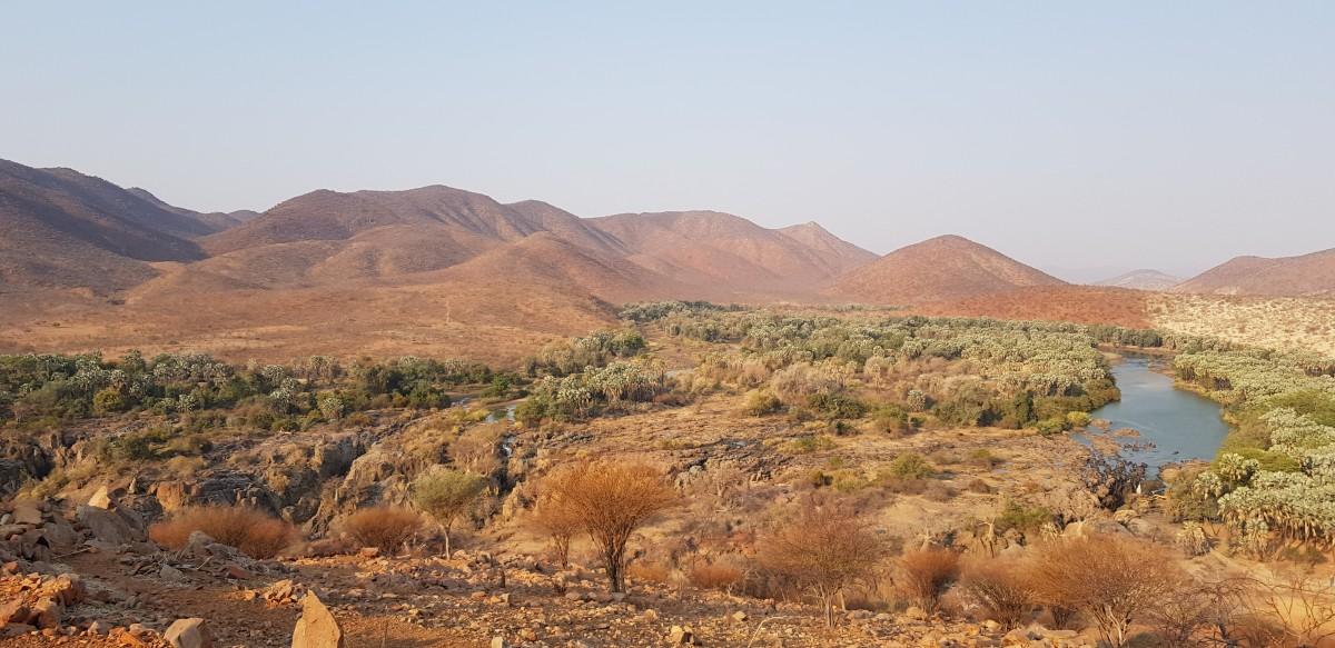 Zdjęcia: Rzeka Kunene / Wodospady Epupa, Północna Namibia, Rzeka Kunene, NAMIBIA