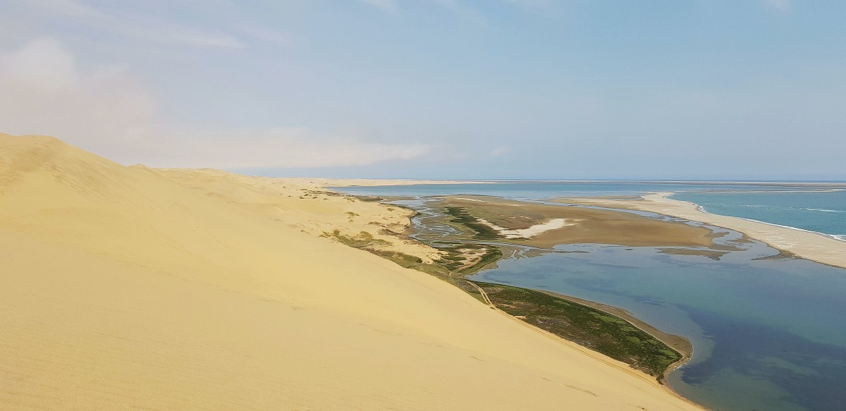 """Zdjęcia: Okolice Walvis Bay  / wydmy, Zachodnia Namibia, Wybrzeże jak """"malowane """", NAMIBIA"""
